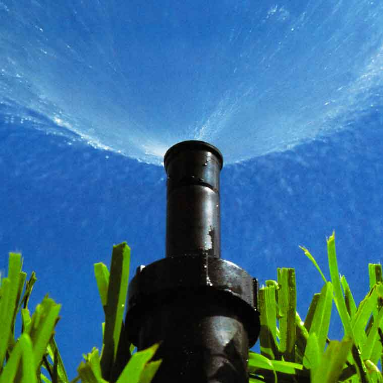 Active sprinkler head | Irrigation Services Landscape Florida